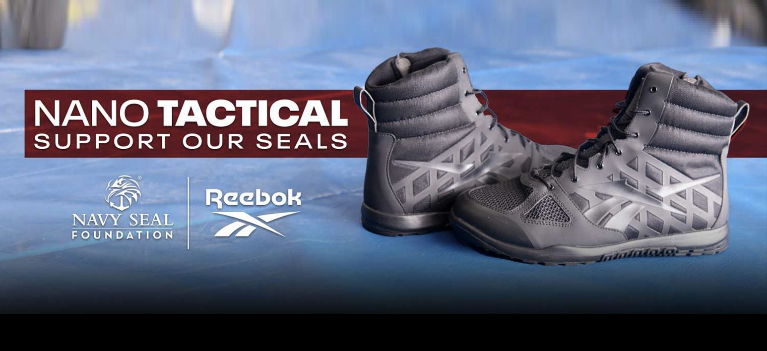 Reebok Supports the SEALs with Navy SEAL Foundation Co-Branded Nano Tactical Boot thumbnail