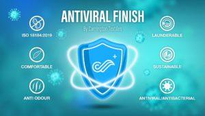 Antiviral fabric treatment_Carrington Textiles
