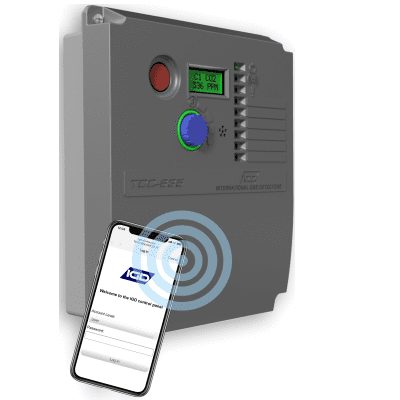TOCSIN 635 mounted gas detection control panel