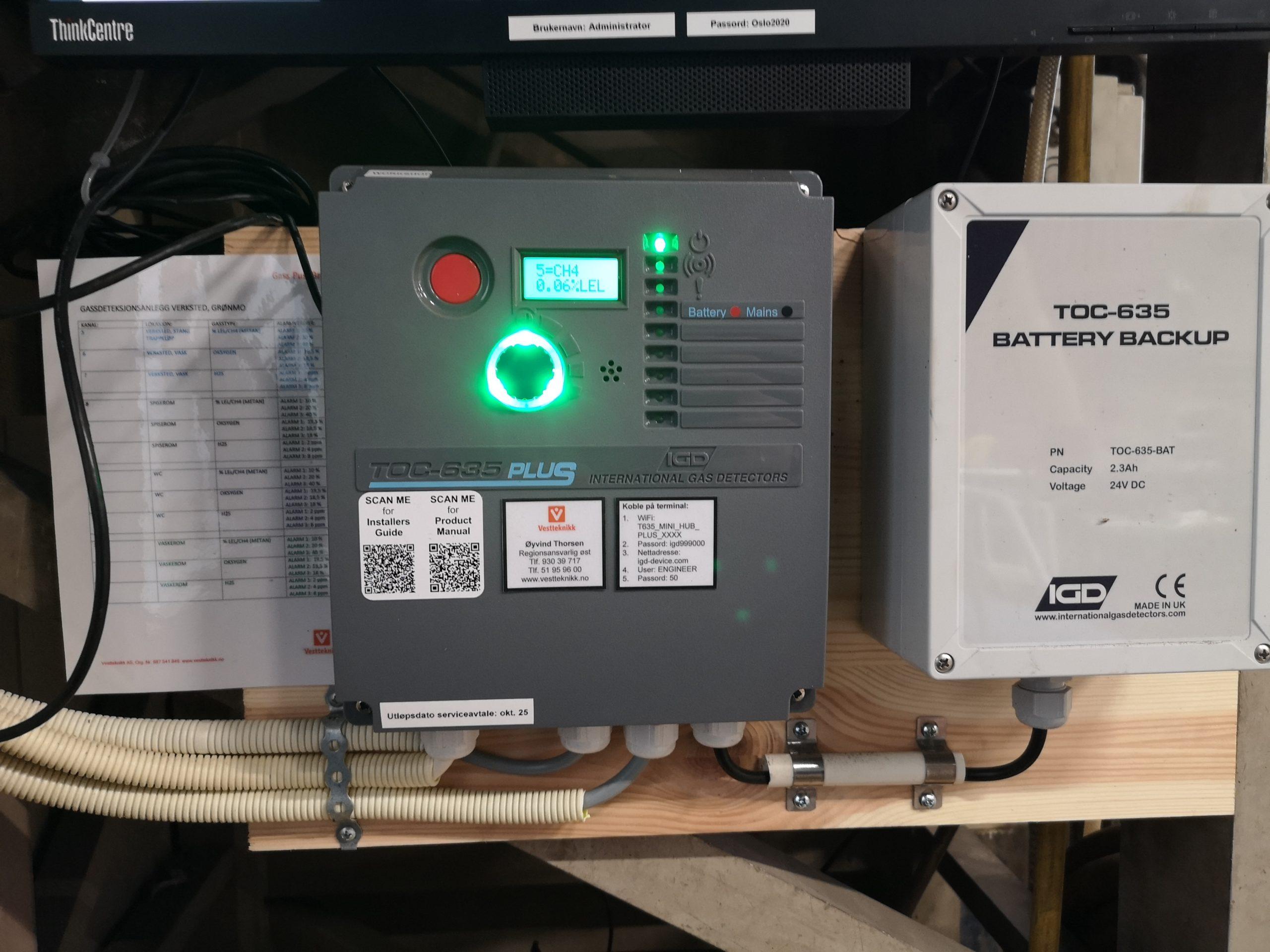 Ground Gas Monitoring With Vestteknikk Norway