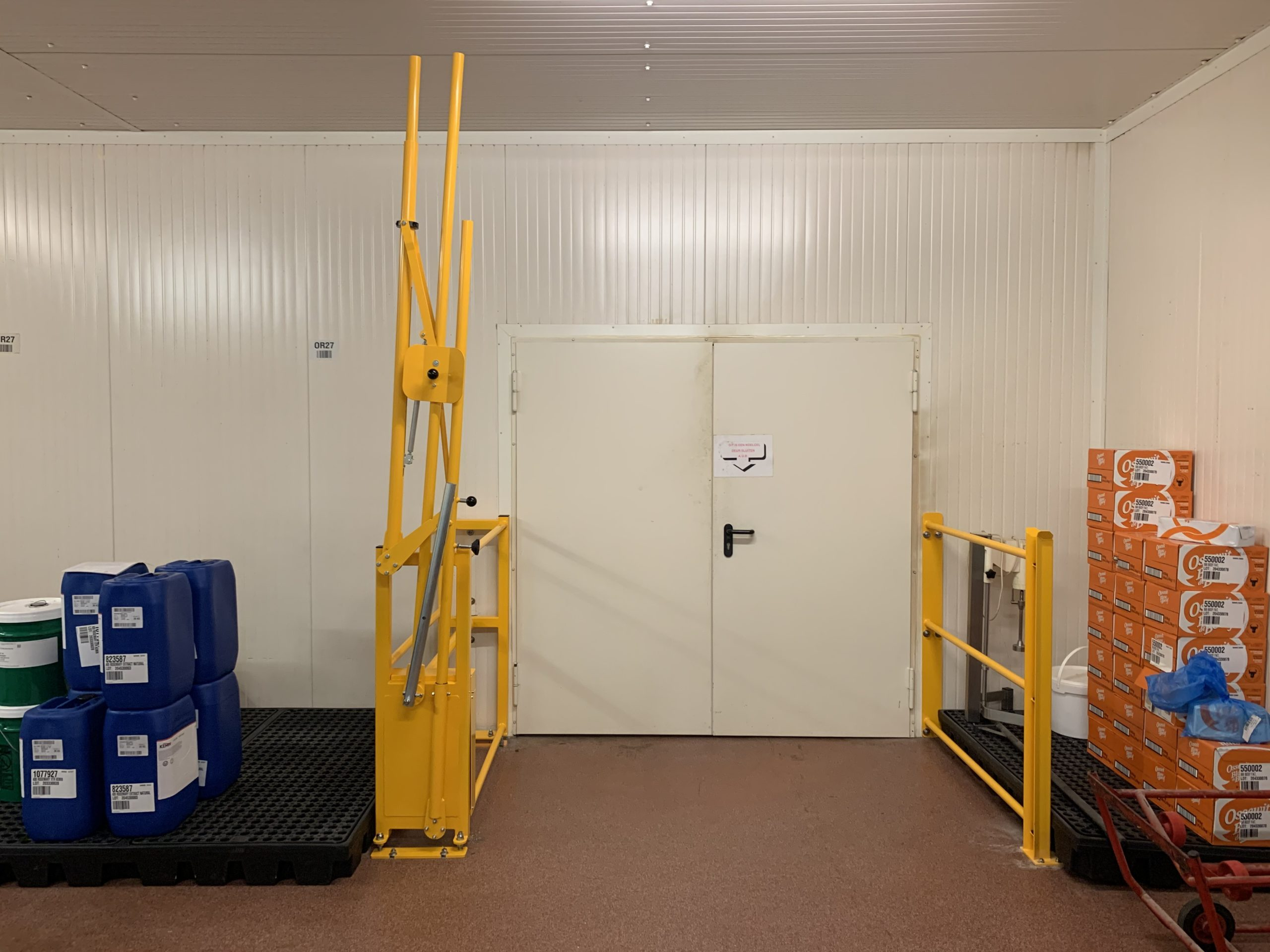 Haagh Protection BV Manufacturing Safety Pallet Gates